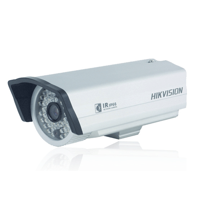 Hikvision DS-2CD802P-IR3 IP camera with client software for network preview