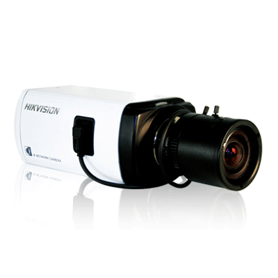 Hikvision DS-2CD893PF(NF)-E(W) IP camera with real time video at 4CIF resolution