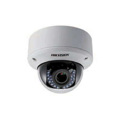 Hikvision DS-2CE56D1T-AVPIR3 true day/night outdoor IR dome camera