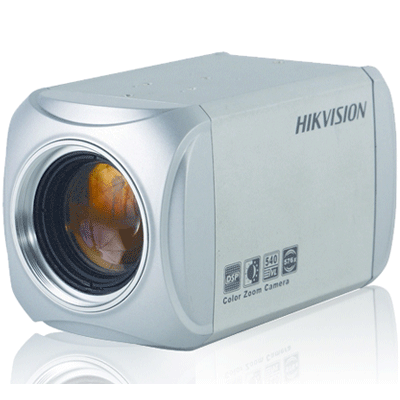 Hikvision DS-2CZ292P/N CCTV camera with OSD menu controlling