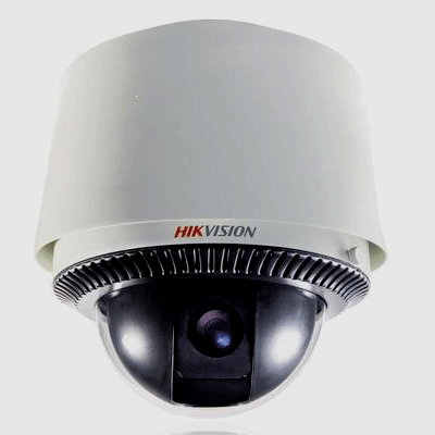Hikvision DS-2DF1-603 dome camera with PTZ camera control