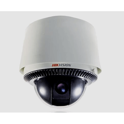 Hikvision DS-2DF1-612 dome camera with pan, tilt, zoom camera control