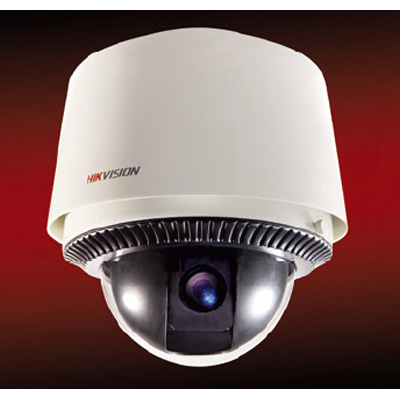 Hikvision DS-2DM1-603X outdoor IP speed dome with 18x zoom