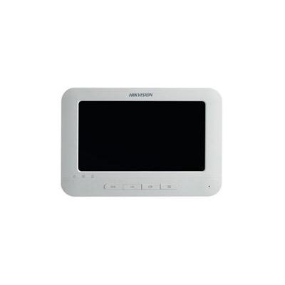 Hikvision DS-KH6310-W video intercom indoor station with 7-inch touch screen