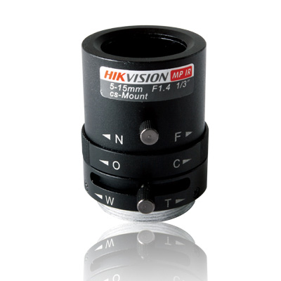 Hikvision TV0515M-MPIR vari-focal megapixel IR CCTV camera lens