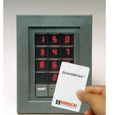 Hirsch Electronics DS47L-Bar Code Access control reader