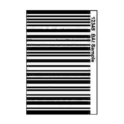 Hirsch Electronics IDC-VBCD - bar code decals for use with CR-VBC reader