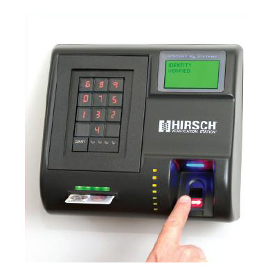 Hirsch Electronics RUU-201-HI personal identity verification station with high intensity