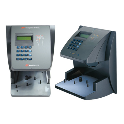 Honeywell Access Systems HandKey CR HG-4 a handkey reader captures a three dimensional image of the hand using a 32,000 pixel image array.
