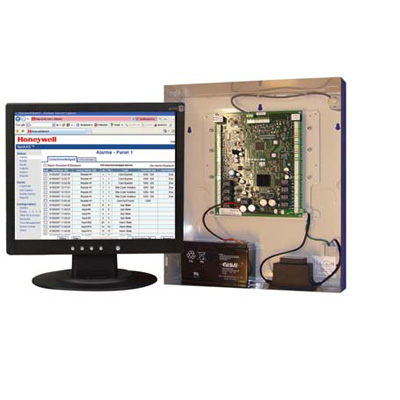 Honeywell Access Systems NX4S2E 4-door access controller in standard enclosure, built-in 230 V transformer