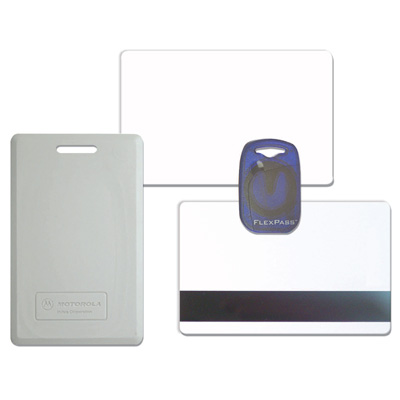 Honeywell Access Systems PVC-I-6 FlexISO card, 26-bit Wiegand format, plus magnetic stripe
