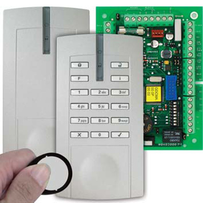 Honeywell Security 026423.87 access control reader with keypad