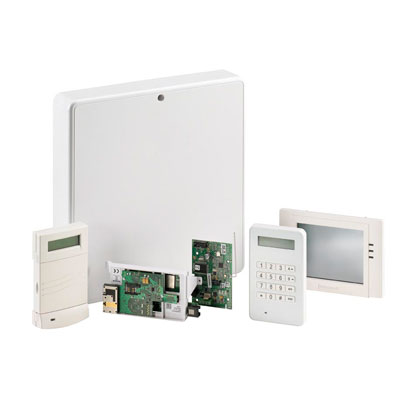 Honeywell security intruder alarm systems control panels honeywell galaxy flex intruder security solution for small to mid sized commercial and large solutioingenieria Image collections