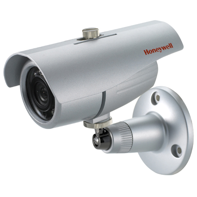 Honeywell Video Systems HB70X standard resolution day/night bullet camera with infrared illuminators
