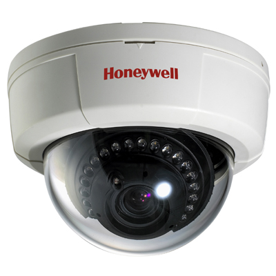 Honeywell Video Systems HD61X standard resolution day/night vandal dome camera with vari-focal manual iris lens