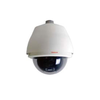 Honeywell Video Systems HDVJPWBC 18x PTZ Clear dome camera with 460 TVL
