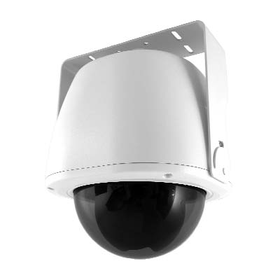 Honeywell Video Systems HDXAPWDCW dome camera with camera sabotage detection