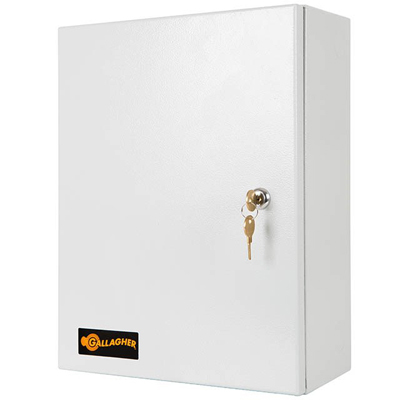 Gallagher I/O Accessory Single Cabinet - secure enclosure providing one footprint for Gallagher devices