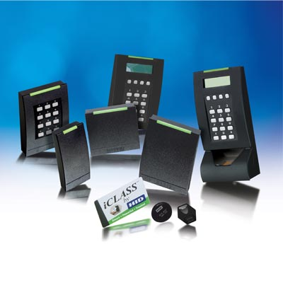 Broad range of access control applications from HID