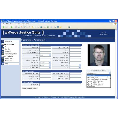Disparate data integration and facial recognition software from Imagis…