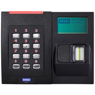 HID RKL40 smart card reader – wall switch keypad with biometric