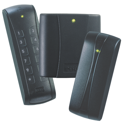 Idesco Access 8 AH Quattro access control reader with tricolur LED