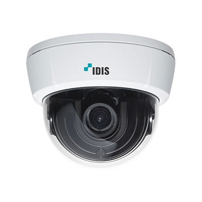 IDIS releases an extensive range of full-HD motorised focus and zoom dome cameras