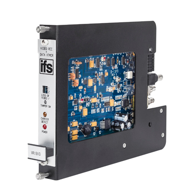 IFS DFR-R3-1 1 slot fiber optic card adaptor