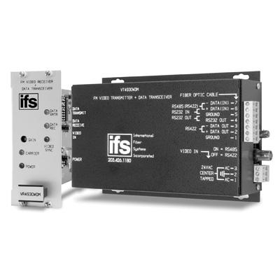 IFS VR4930WDM Video Receiver/Data Transceiver