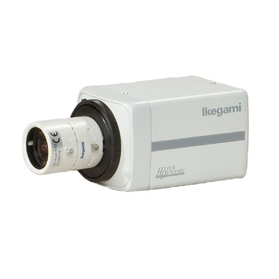 Ikegami ICD-855PACDC 1/3 inch CCTV camera with 600 TVL