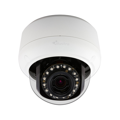 Illustra Pro vandal-resistant IP mini domes in 3MP and 5MP resolutions