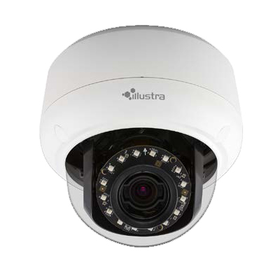 Illustra IPS03D2OCWIT 3MP HD outdoor IR IP mini-dome camera