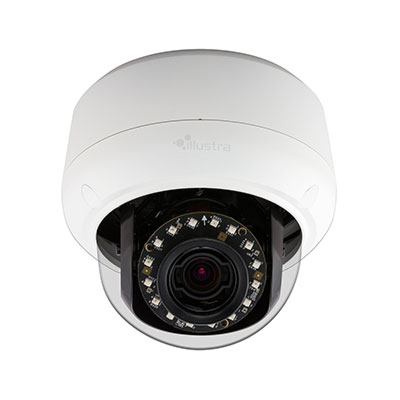 Illustra IPS05D2ISWTY 5 megapixel indoor true day/night IP mini-dome camera