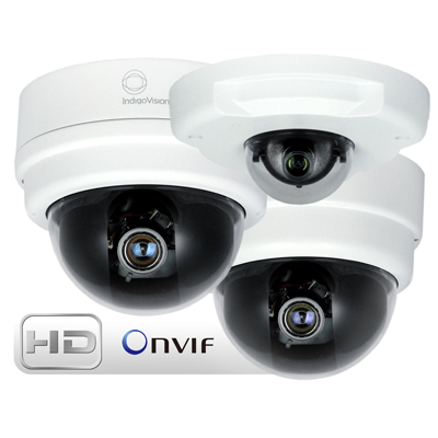 IndigoVision launches new 1080p HD 2 megapixel ONVIF-conformant Minidome cameras