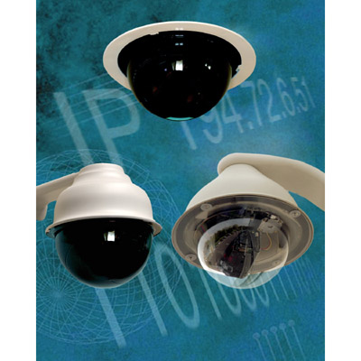 High quality IP dome cameras