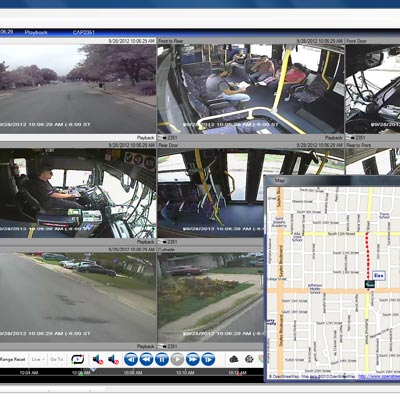 MobileView MV3000 MobileView Navigator Video Management Software