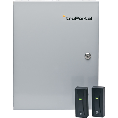 TruPortal TP-ADD-2D2R 2-door add-on module with readers