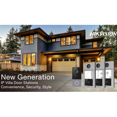 Hikvision Release New IP Villa Door Stations