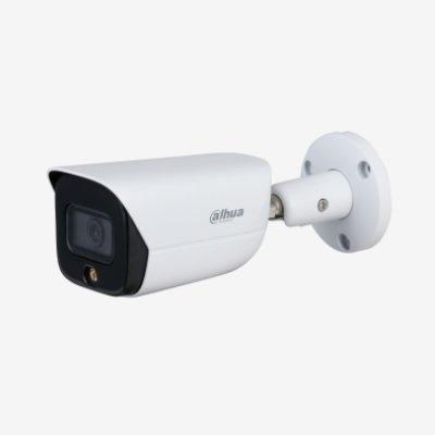 Dahua Technology IPC-HFW3449E-AS-LED 4MP Full-color Warm LED Fixed-focal Bullet WizSense Network Camera