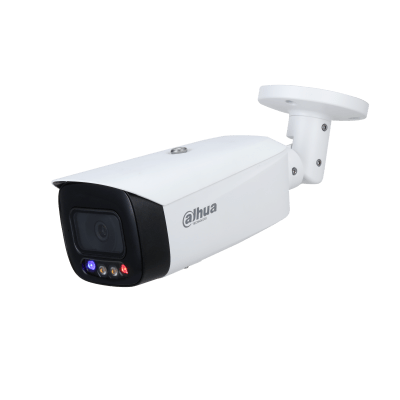 Dahua Technology IPC-HFW3549T1-AS-PV 5MP Full-color Active Deterrence Fixed-focal Bullet WizSense Network Camera