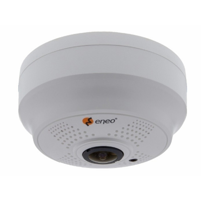 eneo ISD-55P0010P0A Network Dome, Fixed, Day&Night, 2592x1944, 360°, H.264, 1.05mm, Indoor