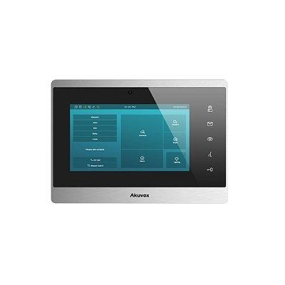 Akuvox IT82 Indoor Monitor with Programmable Soft-touch Buttons
