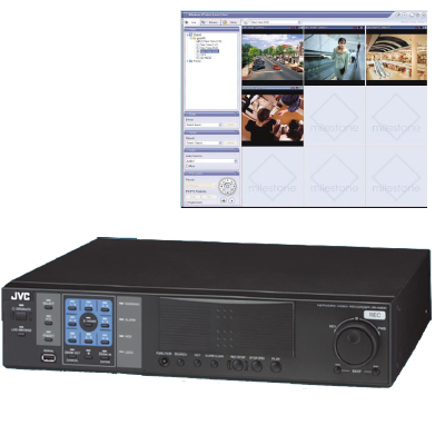 JVC's VR-N900U NVR offers scalable operation & integration with third-party devices