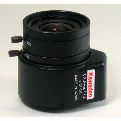Kawaden KV3308DIR IR corrected CCTV vari focal lens with CS mount