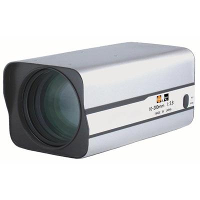 Kawaden KZ30X1028VIR compact IR corrected 30X motorised zoom lens with Video Iris