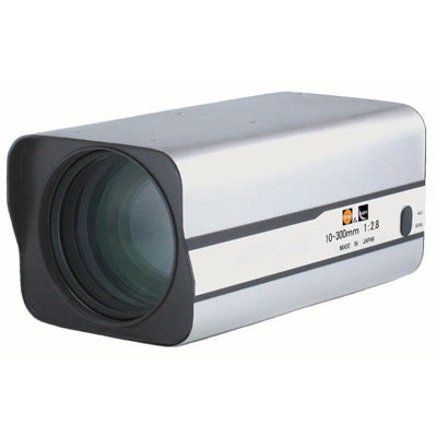 Kawaden KZM30X1028VPIR IR corrected Megapixel 30X motorised zoom lens with video iris