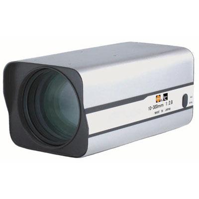 Kawaden KZM30X1028VPIR IR corrected Megapixel 30X motorised zoom lens with video iris and Z/F preset