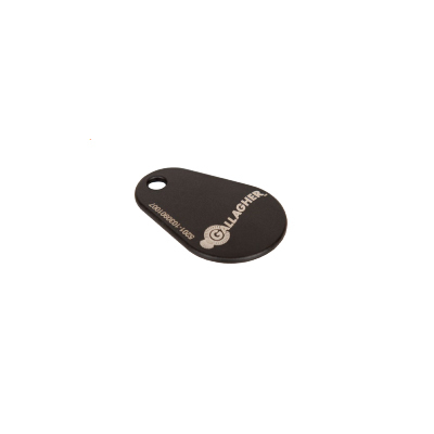 Gallagher 125 kHz keyfob epoxy (Black)
