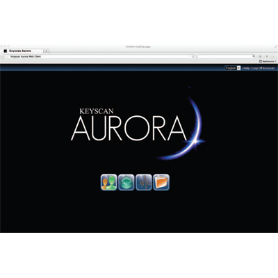Keyscan AUR-WEB AURORA web access software license