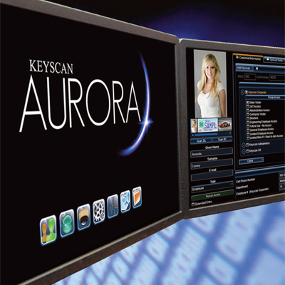 Keyscan AURORA access control management software